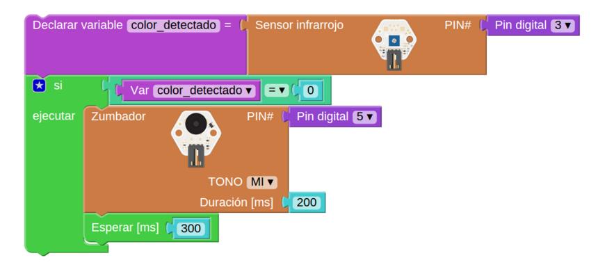 Programando sensores